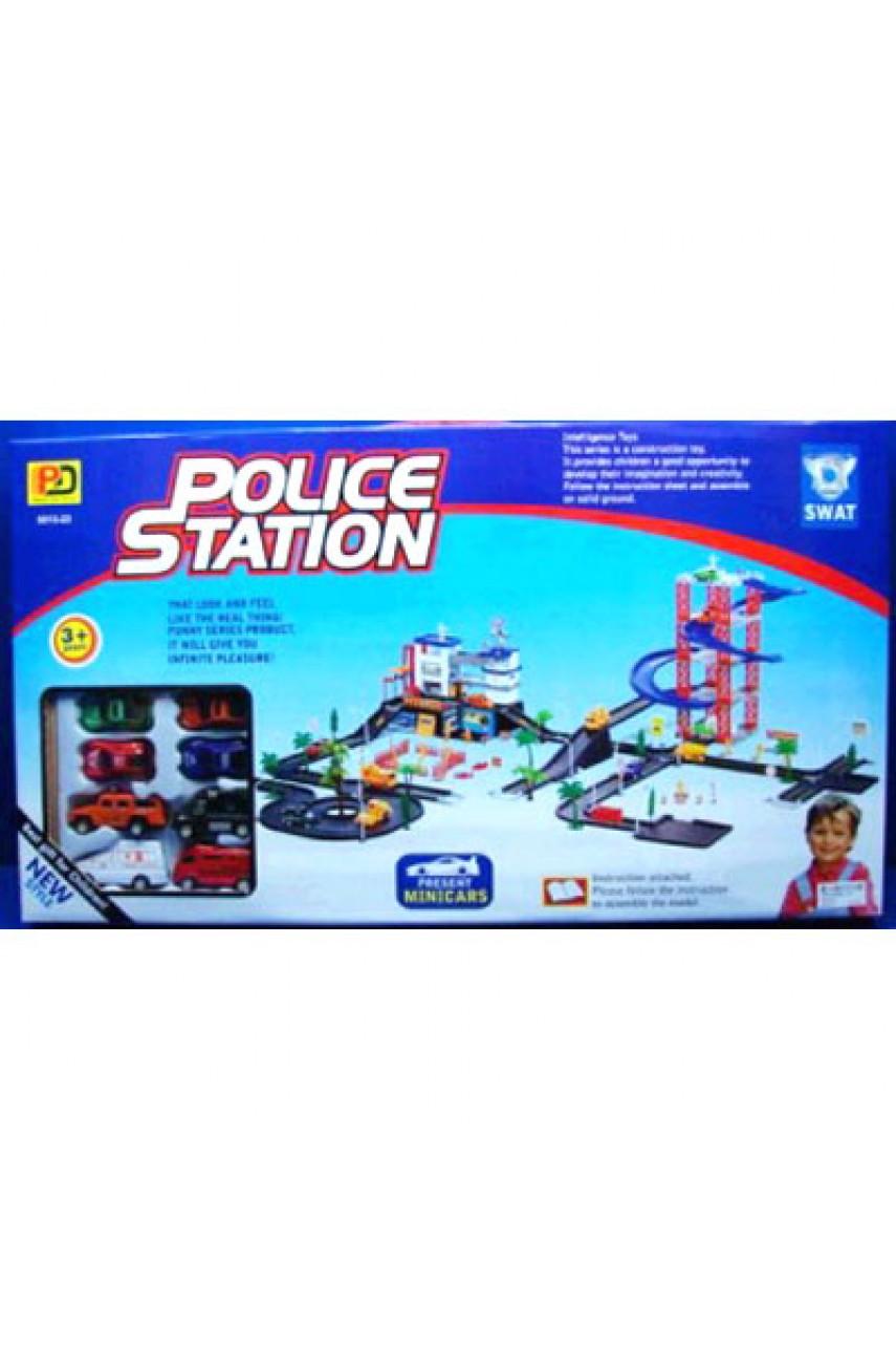 Конструктор паркинг Полицейская станция