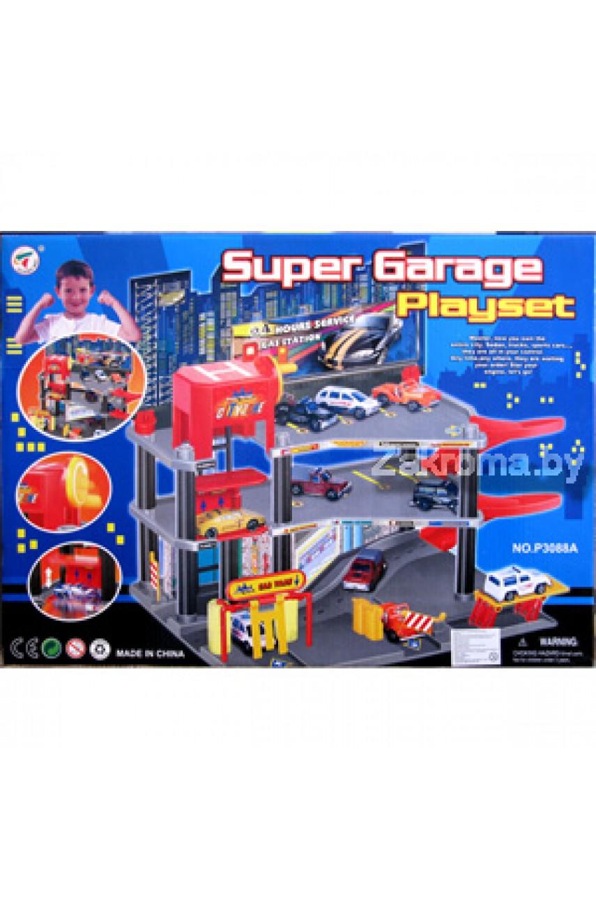 Конструктор Супер гараж арт. 3088