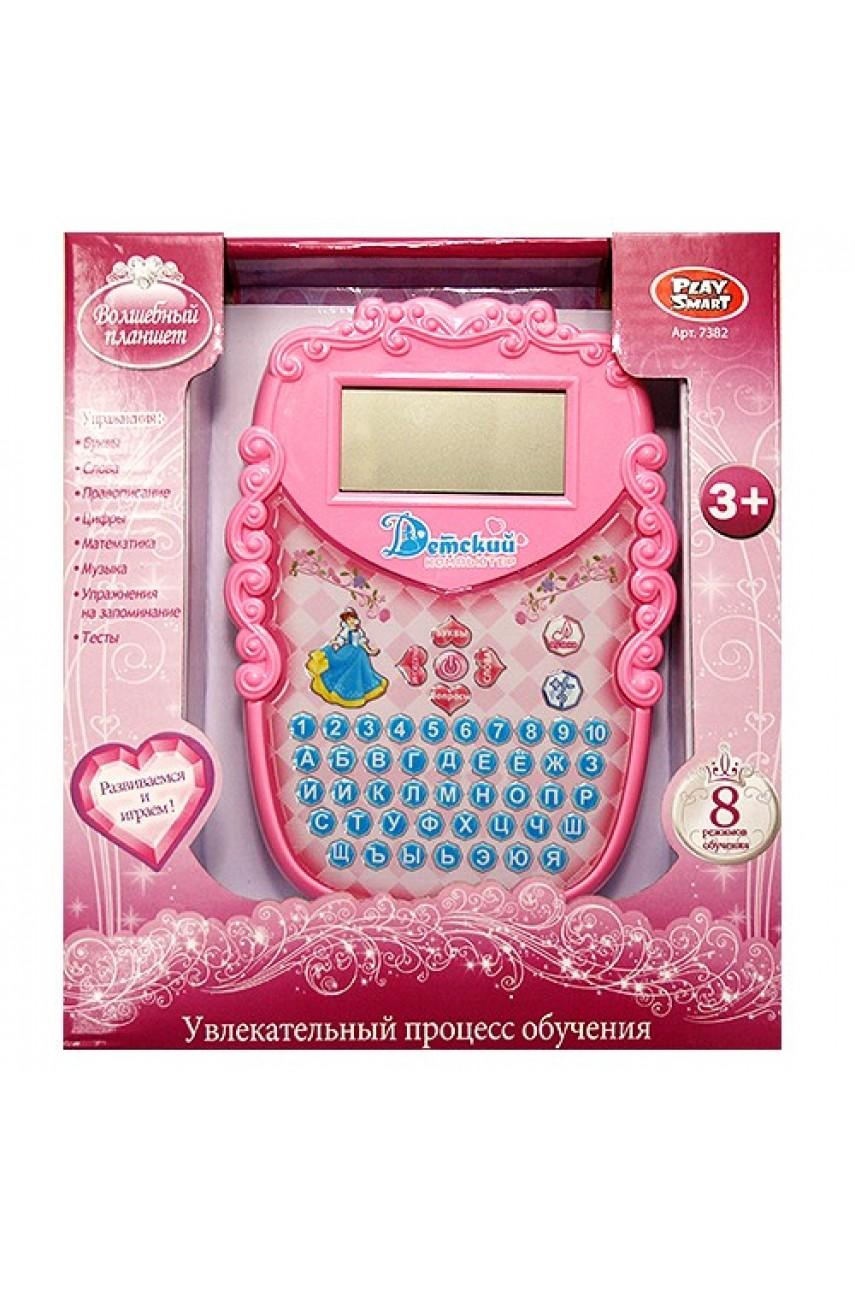 Детский обучающий компьютер Волшебный планшет  7382