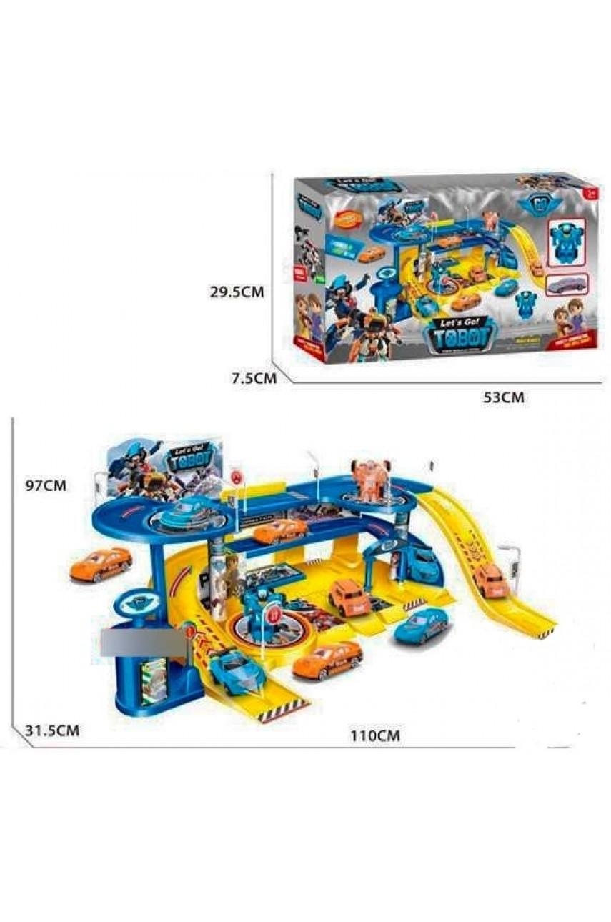 Игровой набор Гараж Тобот 8612