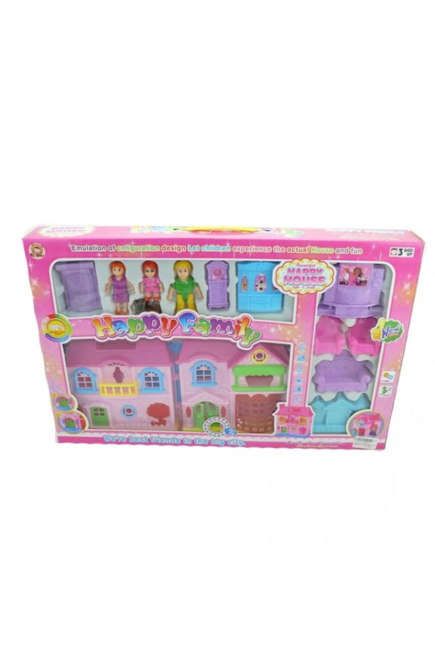 Домик для кукол My Happy Family KB99-3