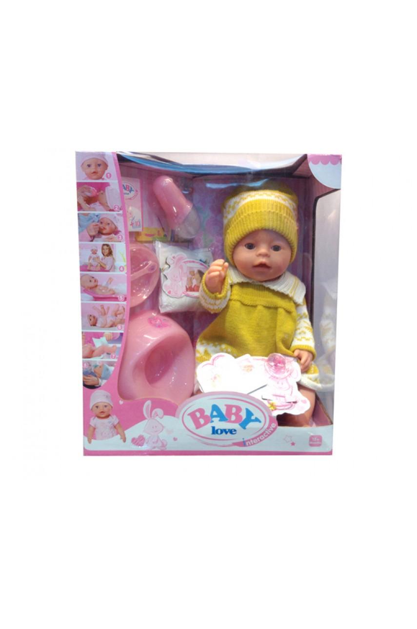 Кукла пупс Baby Love BL009B
