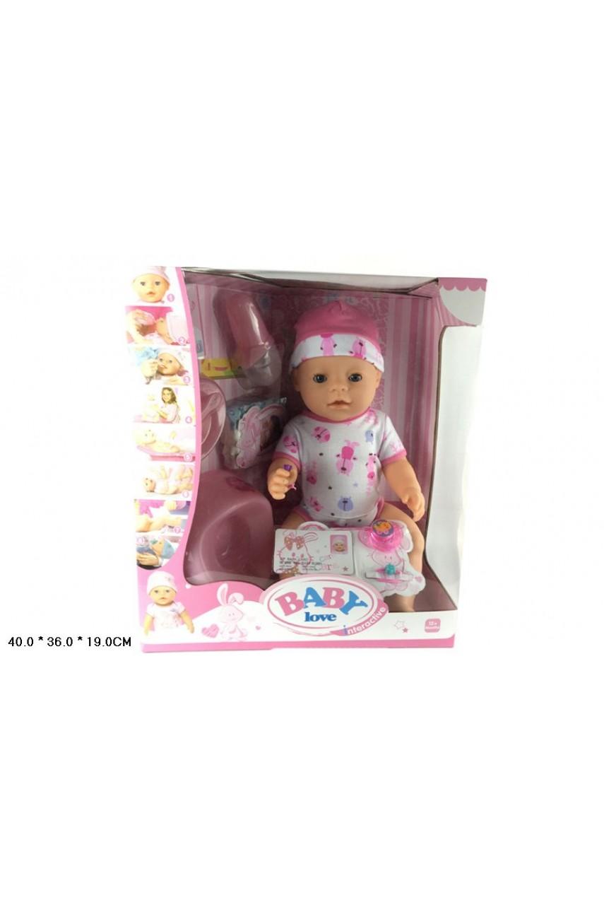 Кукла пупс Baby Love BL012C