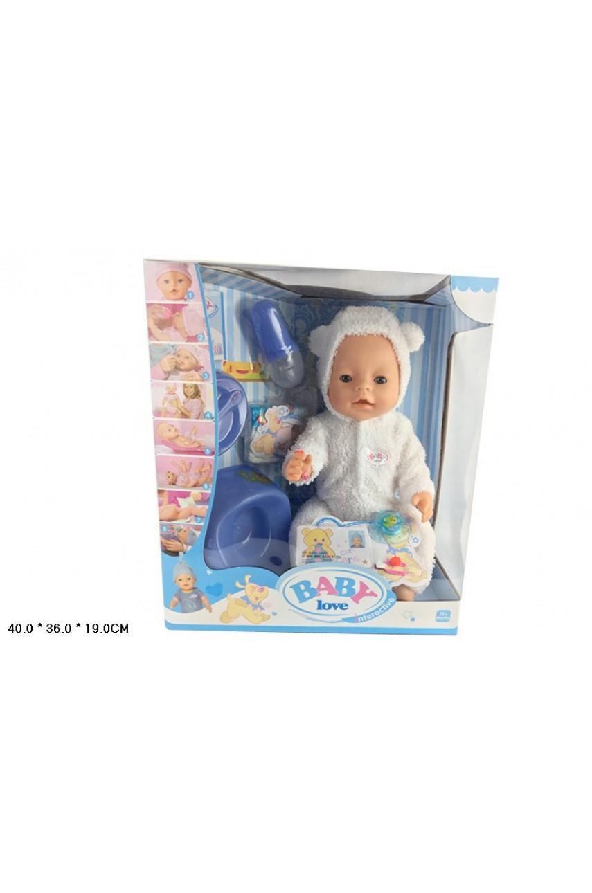 Кукла пупс Baby Love BL014C