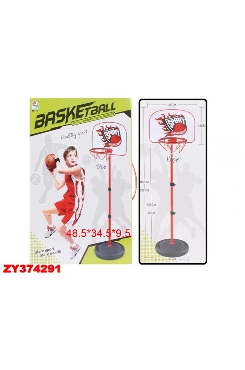 Кольцо баскетбольное на стойке ZY717