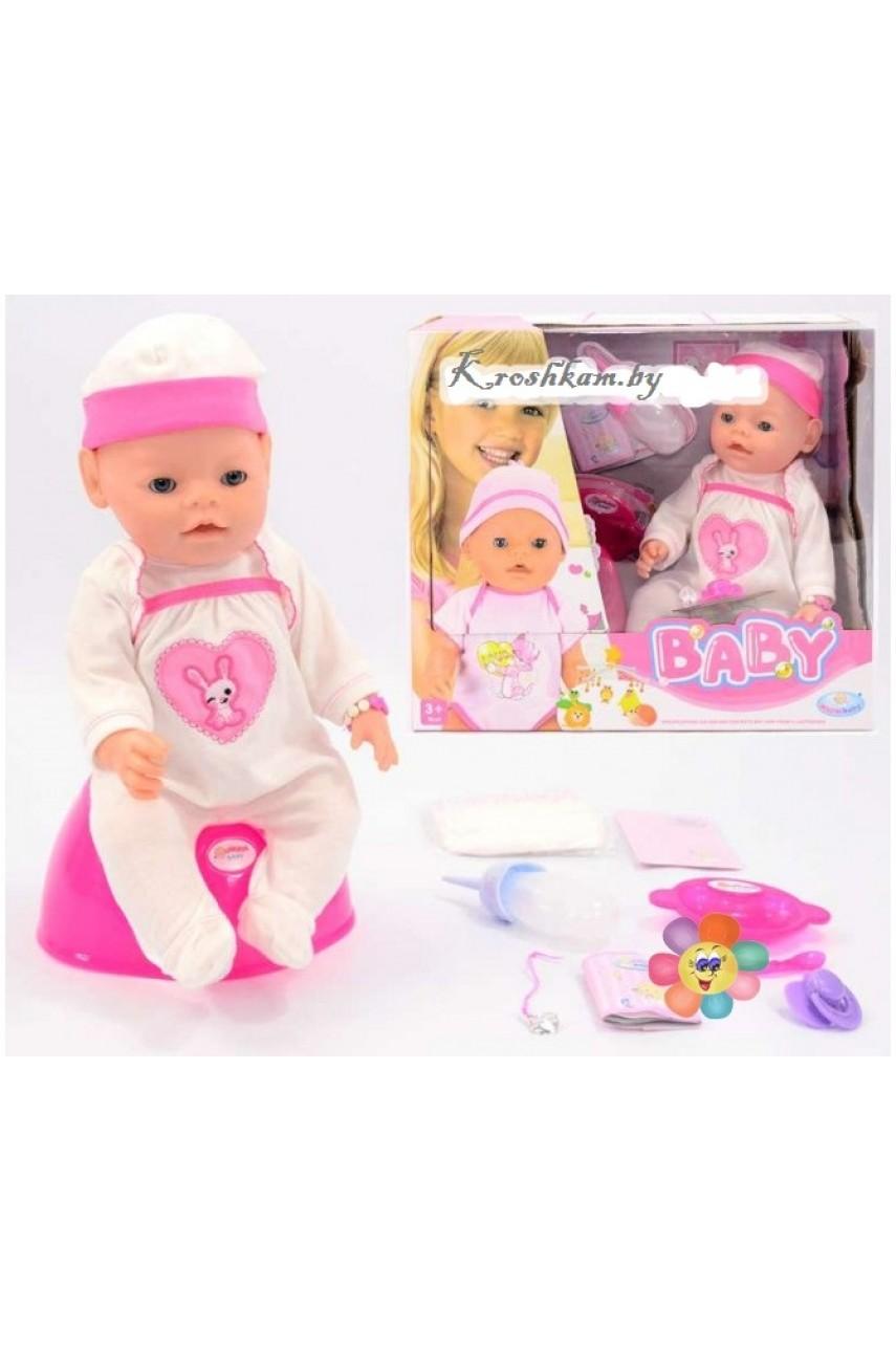 Кукла пупс Baby Warm RT05068-2