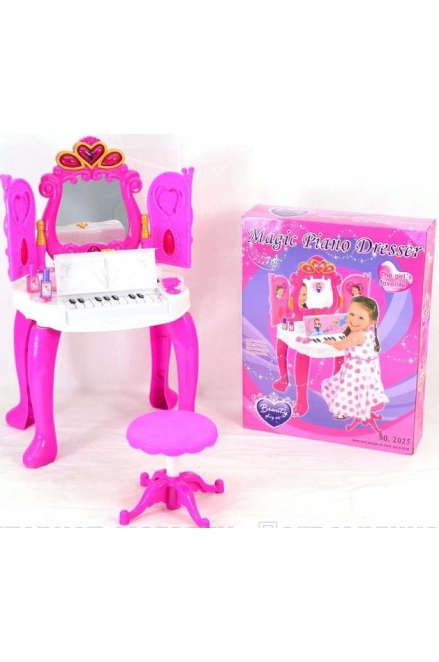 Детское трюмо с пианино 2025