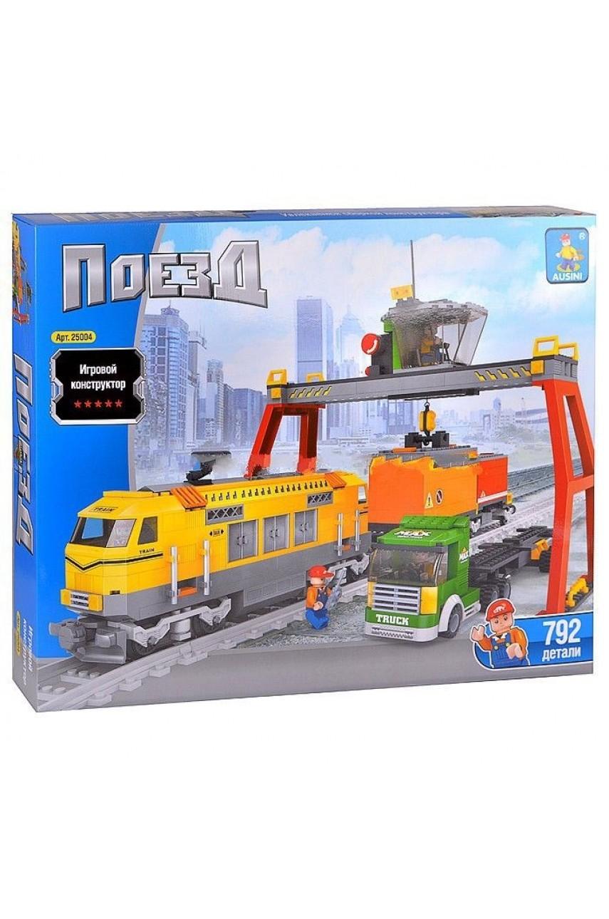 Конструктор Ausini Поезд 25004