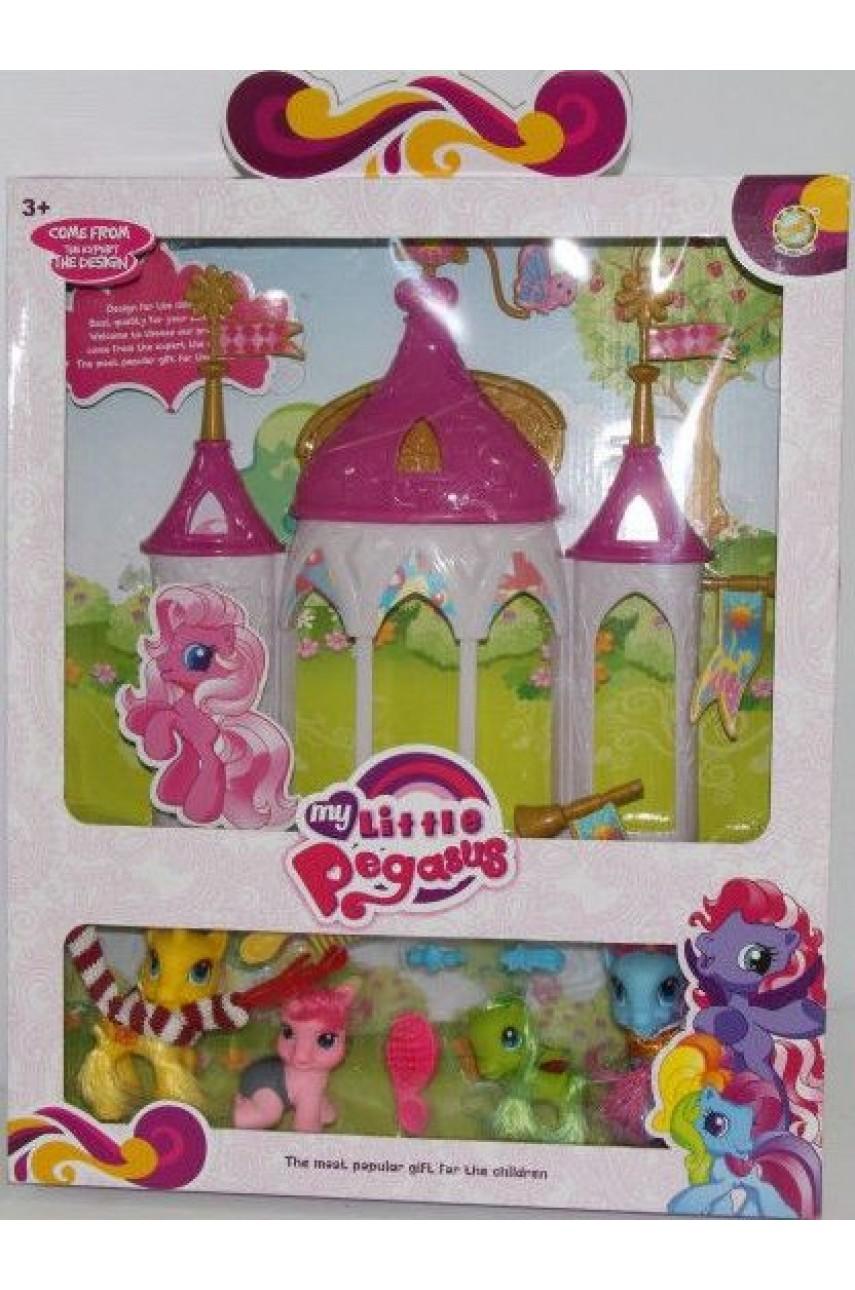 Замок для ПониMy Little Pony с аксессуарами