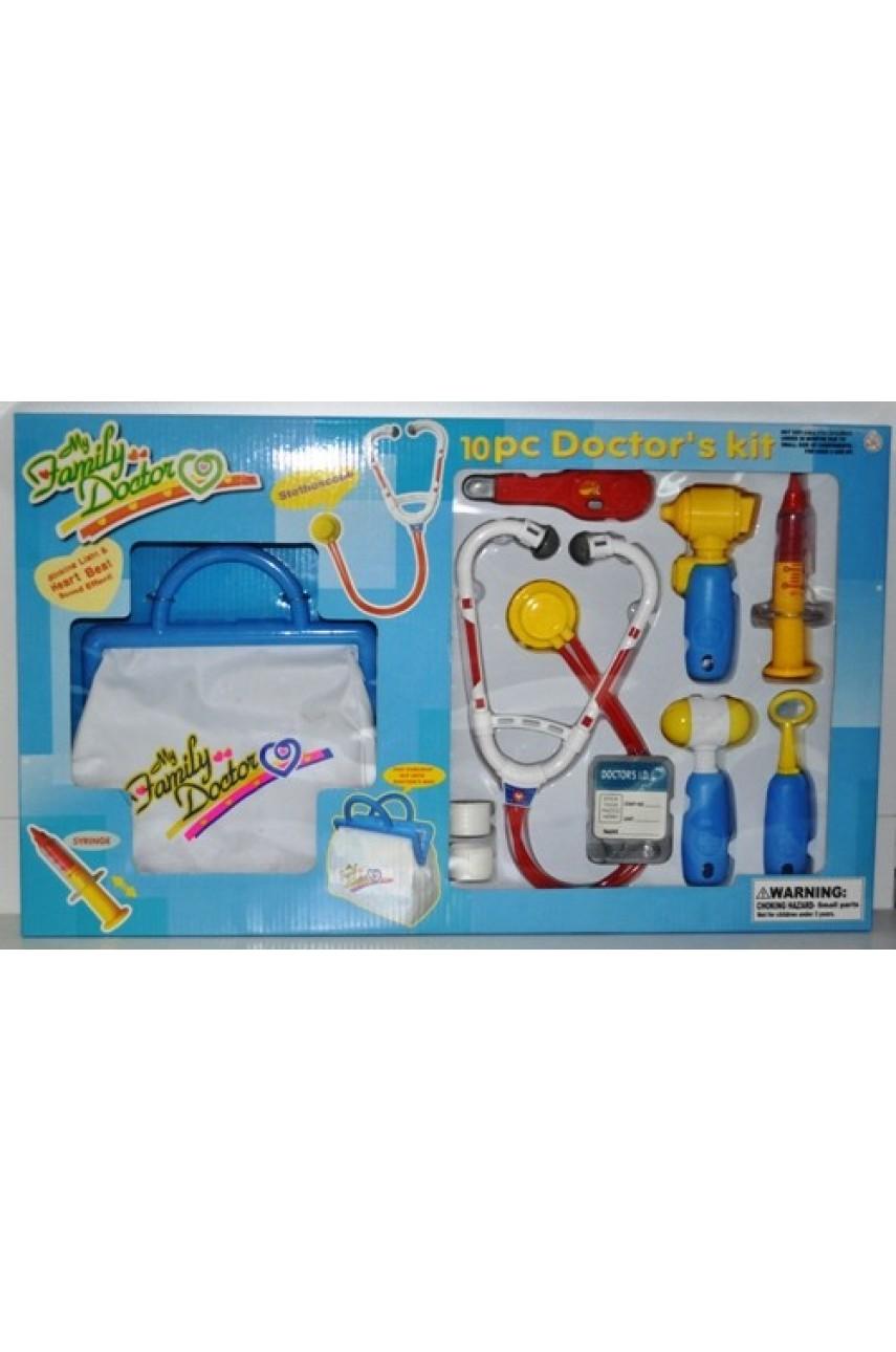 Игровой набор Доктор My Family Doctor с сумочкой