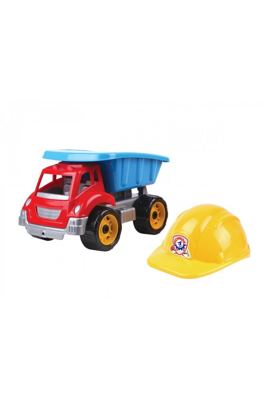 Машина Самосвал Малыш строитель технок 3961