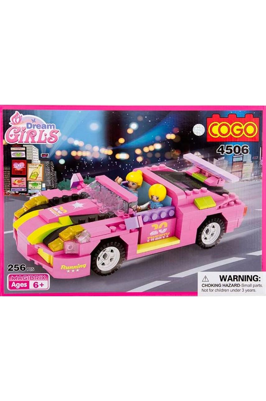 Конструктор Dream Girls 4506 Розовый кабриолет