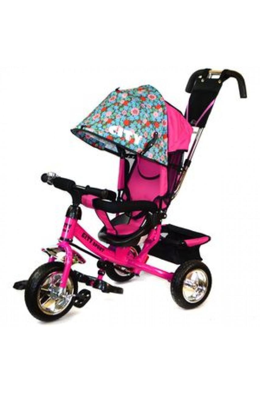 Детский трехколесный велосипед Trike City 5888A-EVA