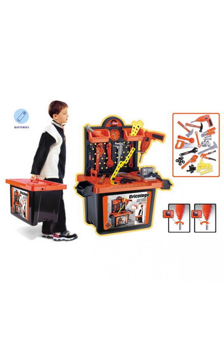 Игровой набор Мастерская в чемодане 56008