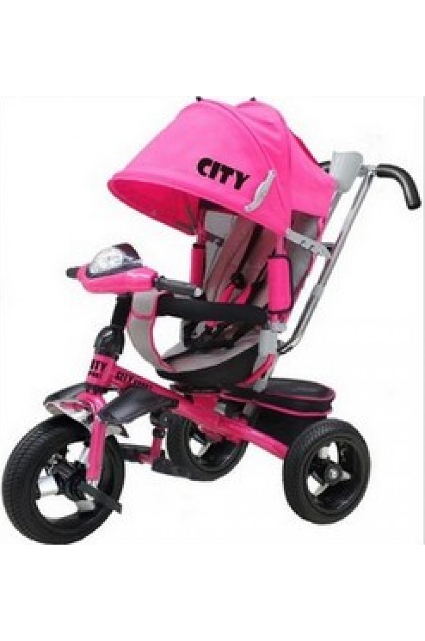 Детский трехколесный велосипед Trike City 5888A-2 ПОВОРОТНОЕ СИДЕНЬЕ