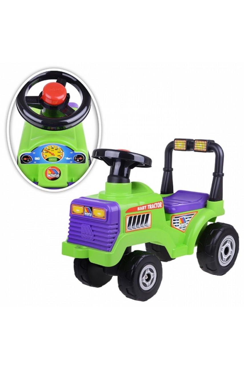 Детская Каталка-трактор Митя 7956 Полесье