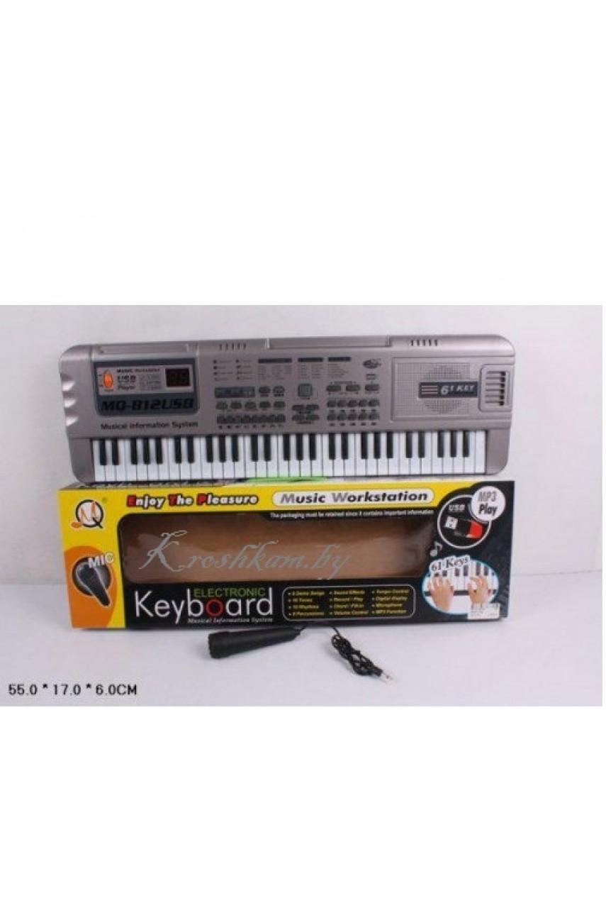 Детский синтезатор MQ 812 USB