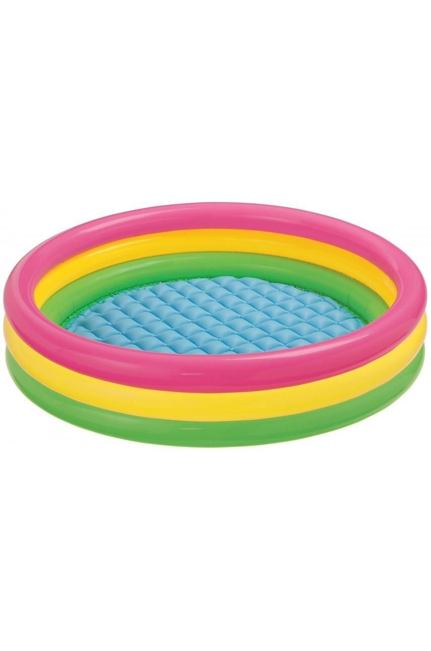 Детский надувной бассейн 3-х кольцевой Intex 57422