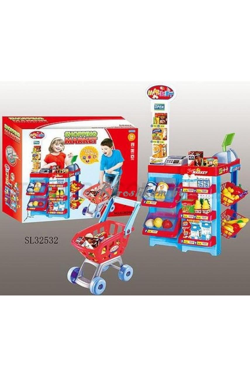 Игровой набор Супермаркет sl32352