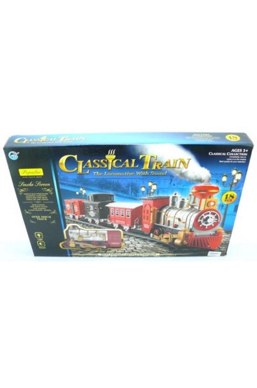 Детская железная  дорога Classical Train 18 деталей