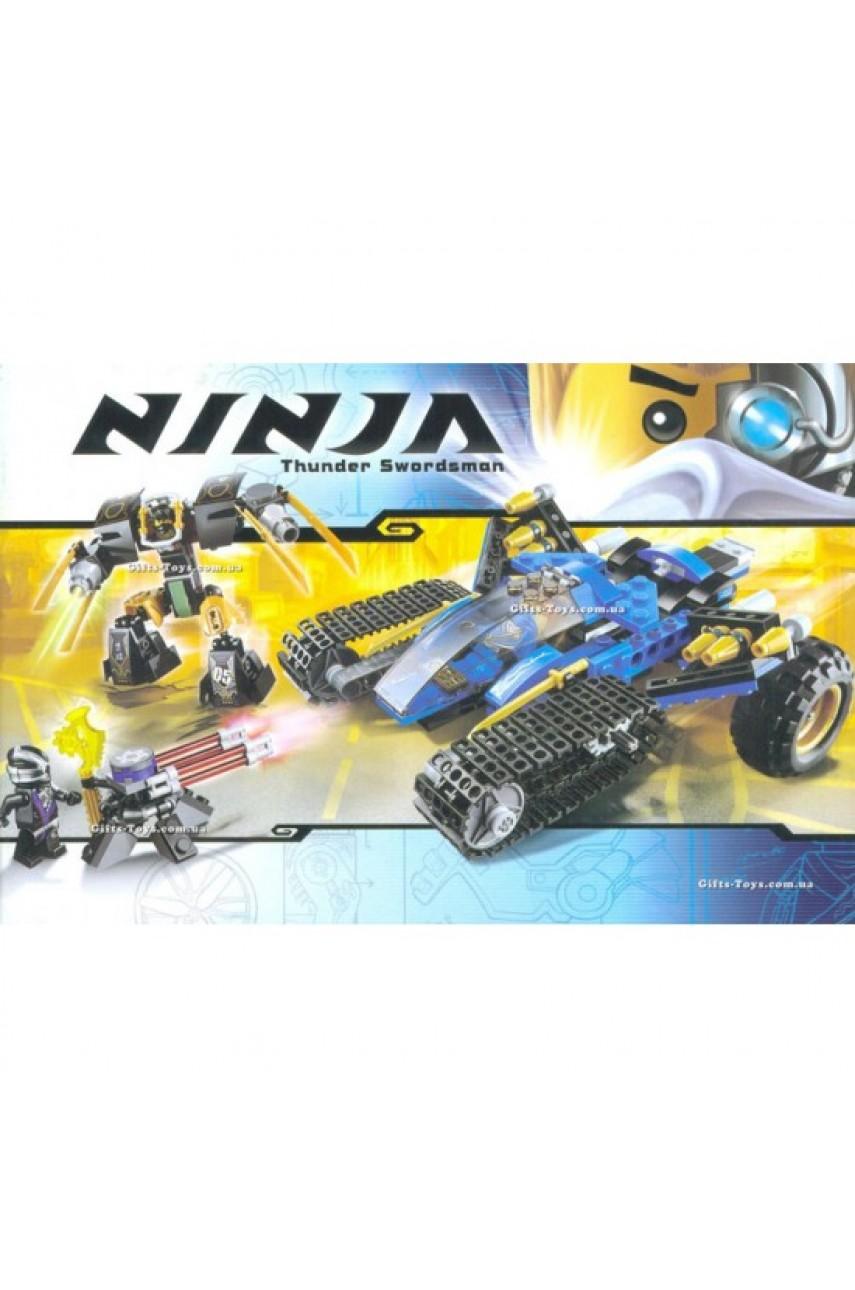 Конструктор NINJA 10222A Внедорожник молния 333 детали
