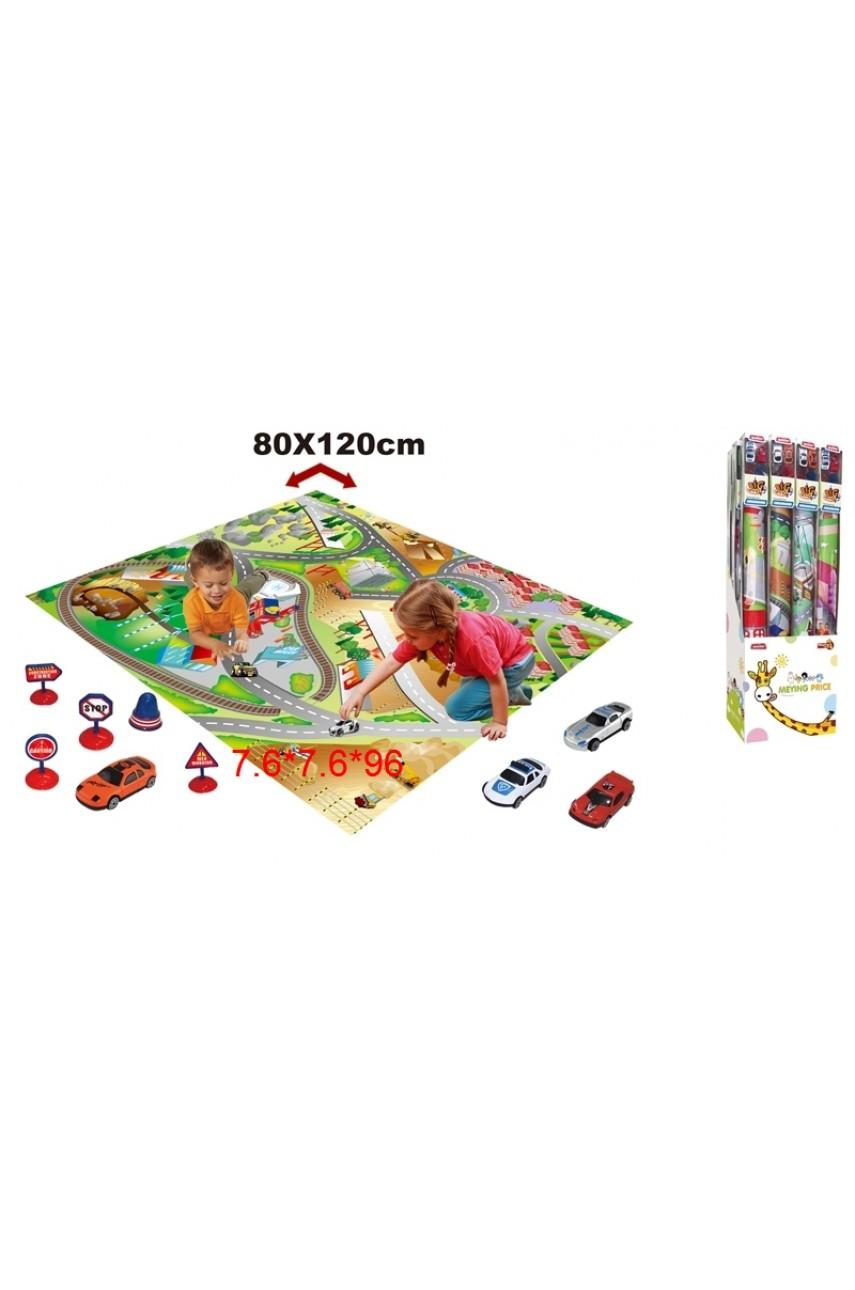 Игровой набор коврик с машинками Дорога 019A-26C