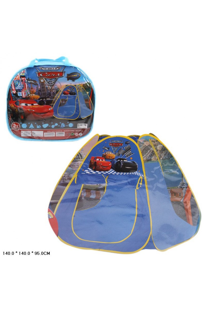 Игровая палатка Тачки 226-3