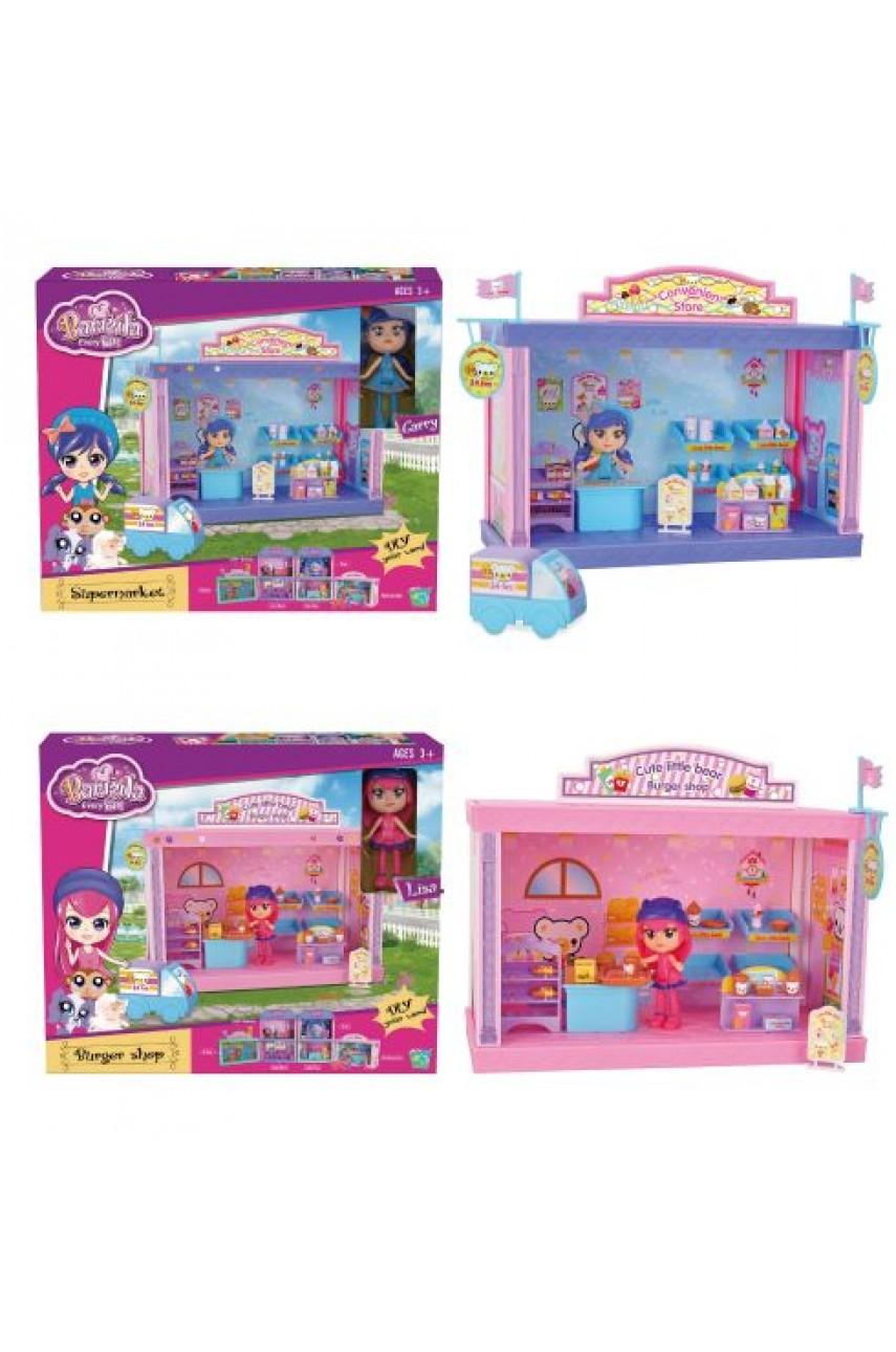 Домик для кукол 60332 с куклой