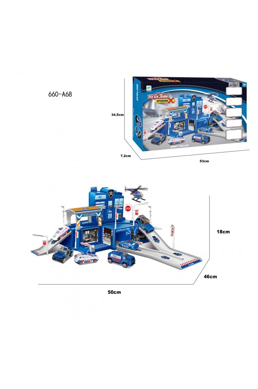 Игровой набор Гараж 660-А68