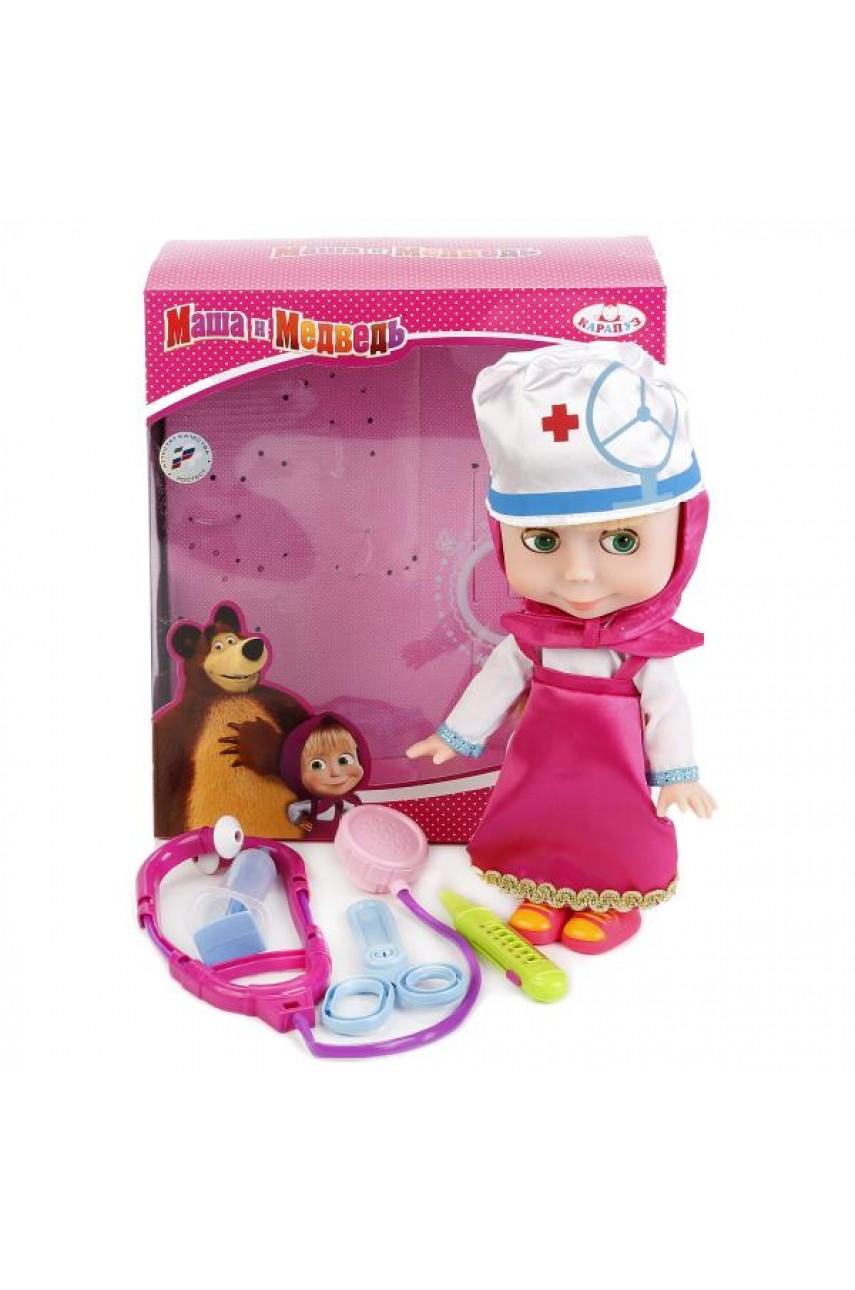 Кукла Маша с набором доктора