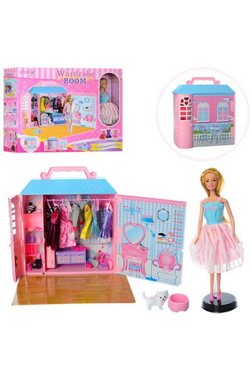 Кукла Анлили с гардеробной комнатой 99049
