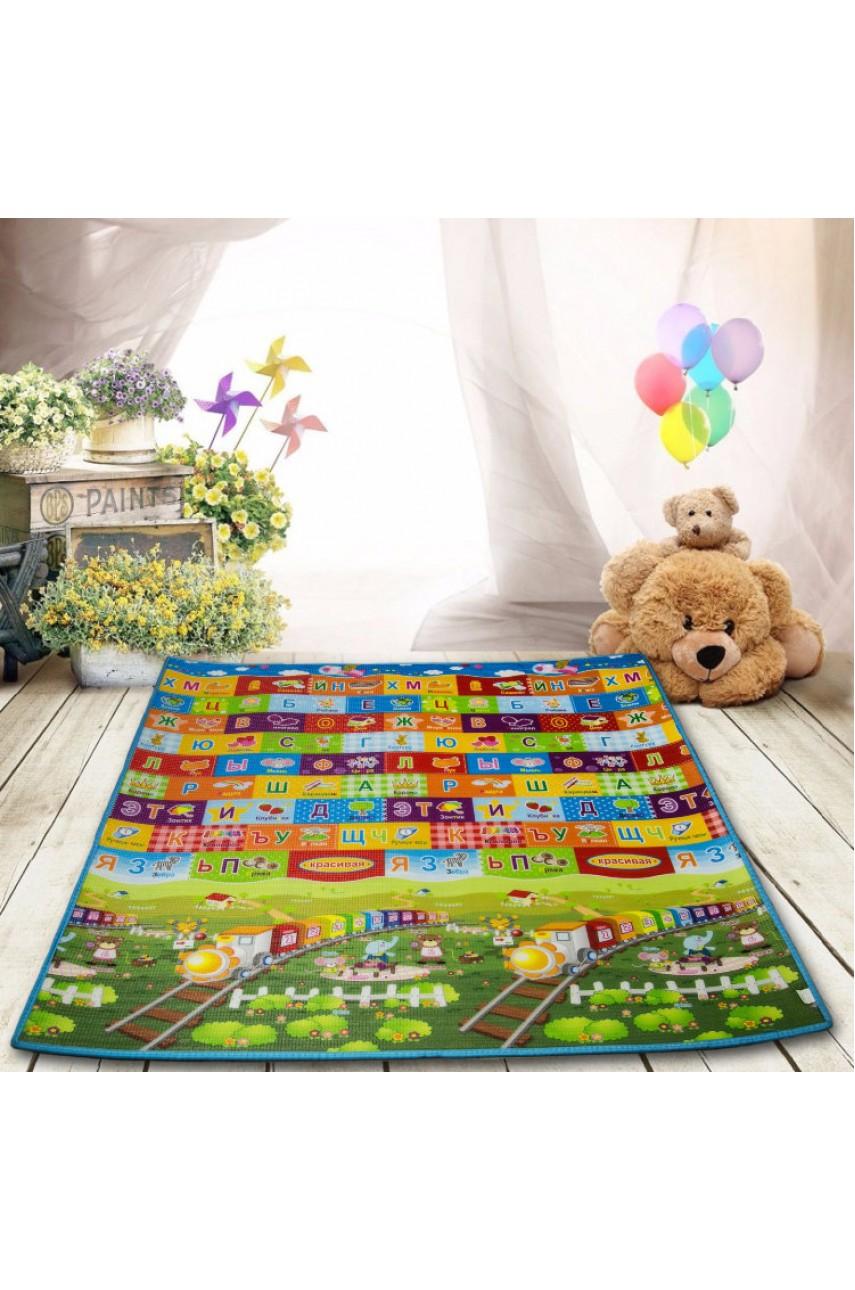 Детский коврик VT18-21029 на фольгированной основе 178х147 см