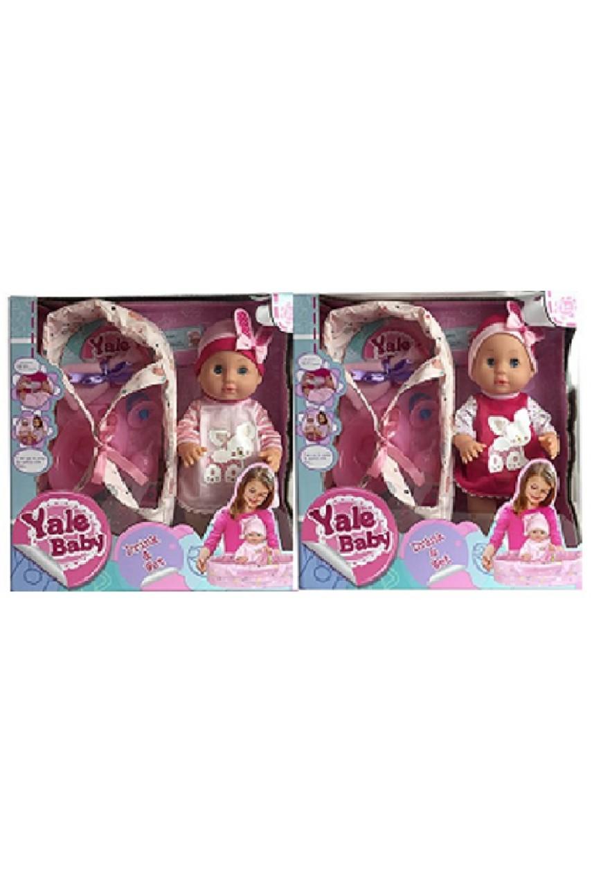 Кукла Yale Baby с переноской YL1861F