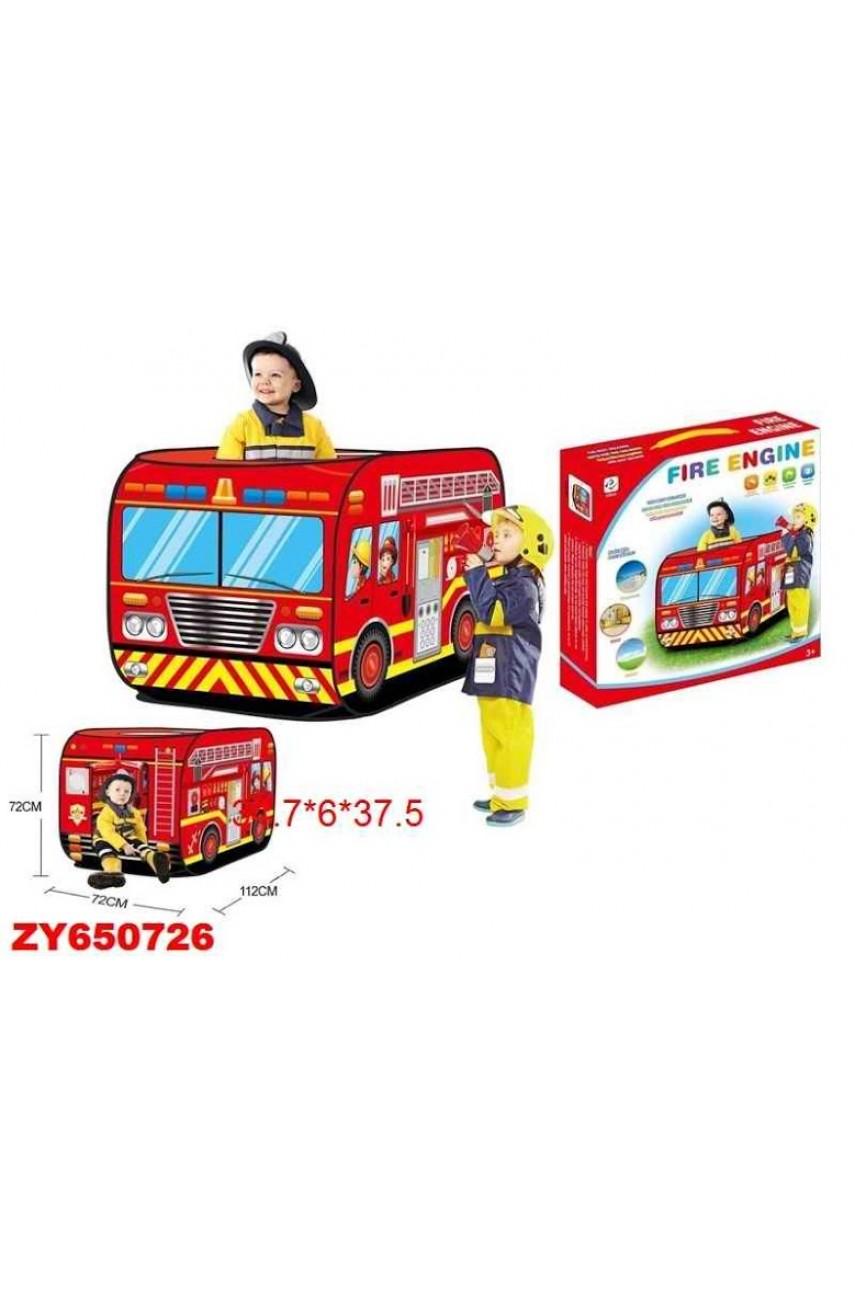 Игровая палатка Пожарная машина 995-7035B
