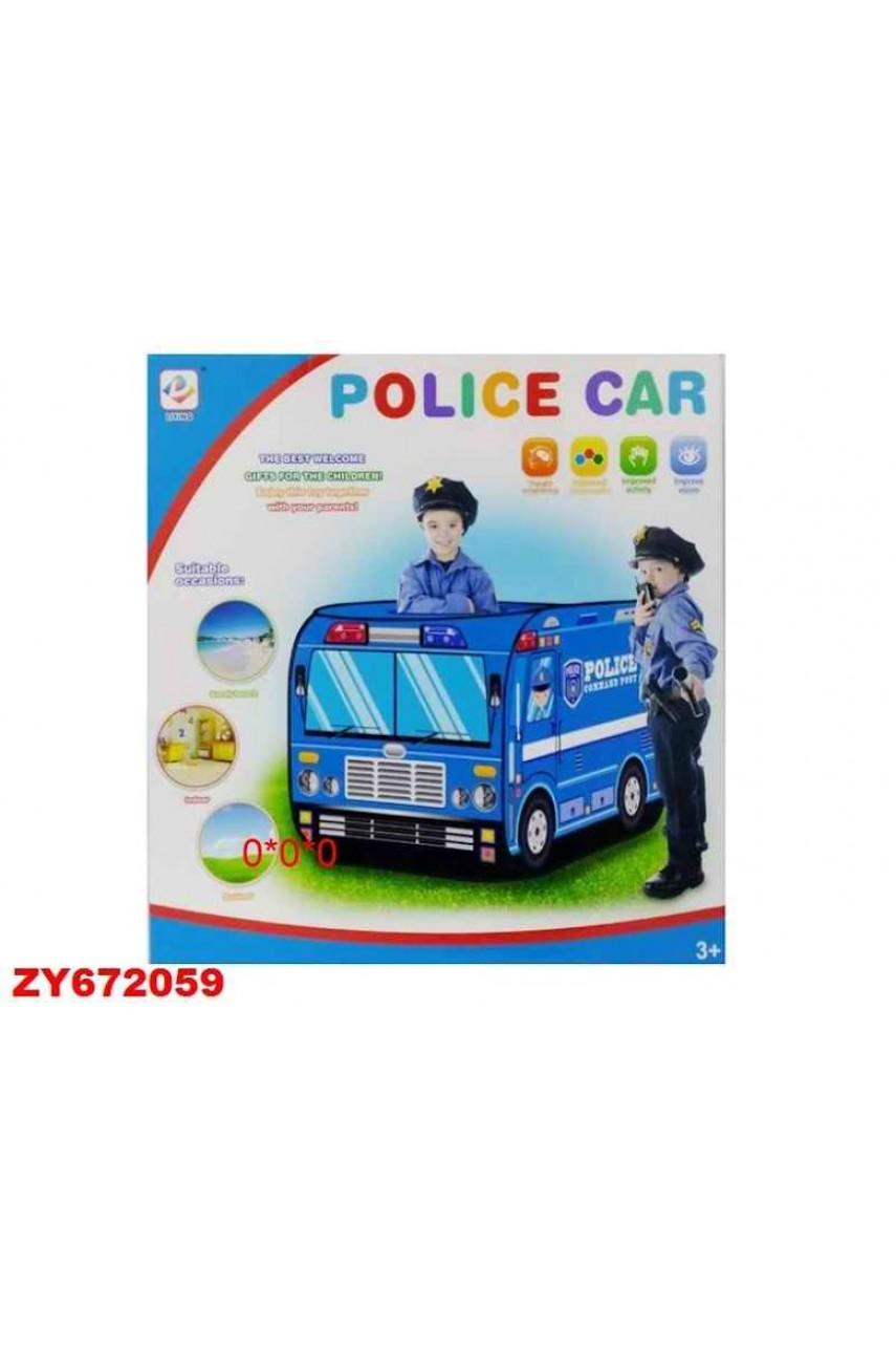 Игровая палатка Полицейская машина 995-7067B