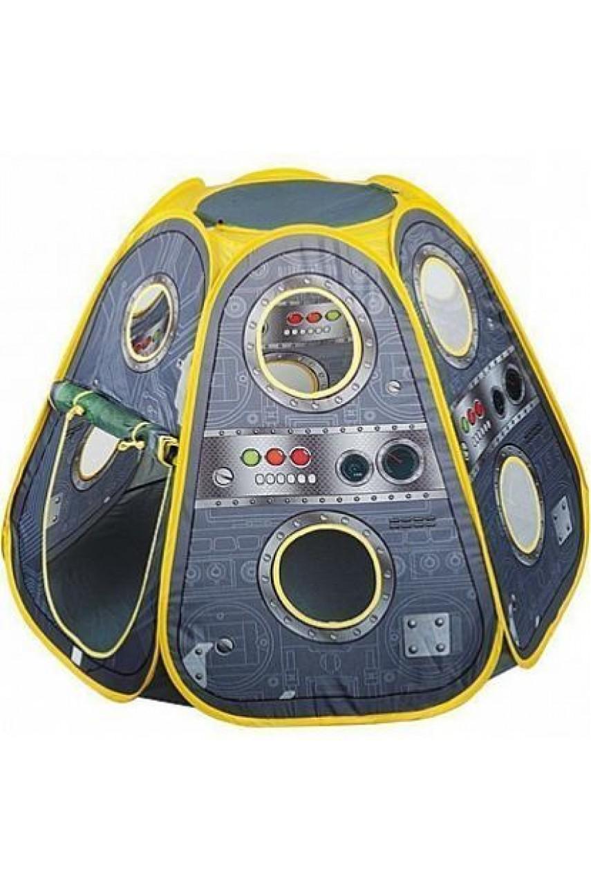 Игровая палатка Космический корабль + 100 шаров