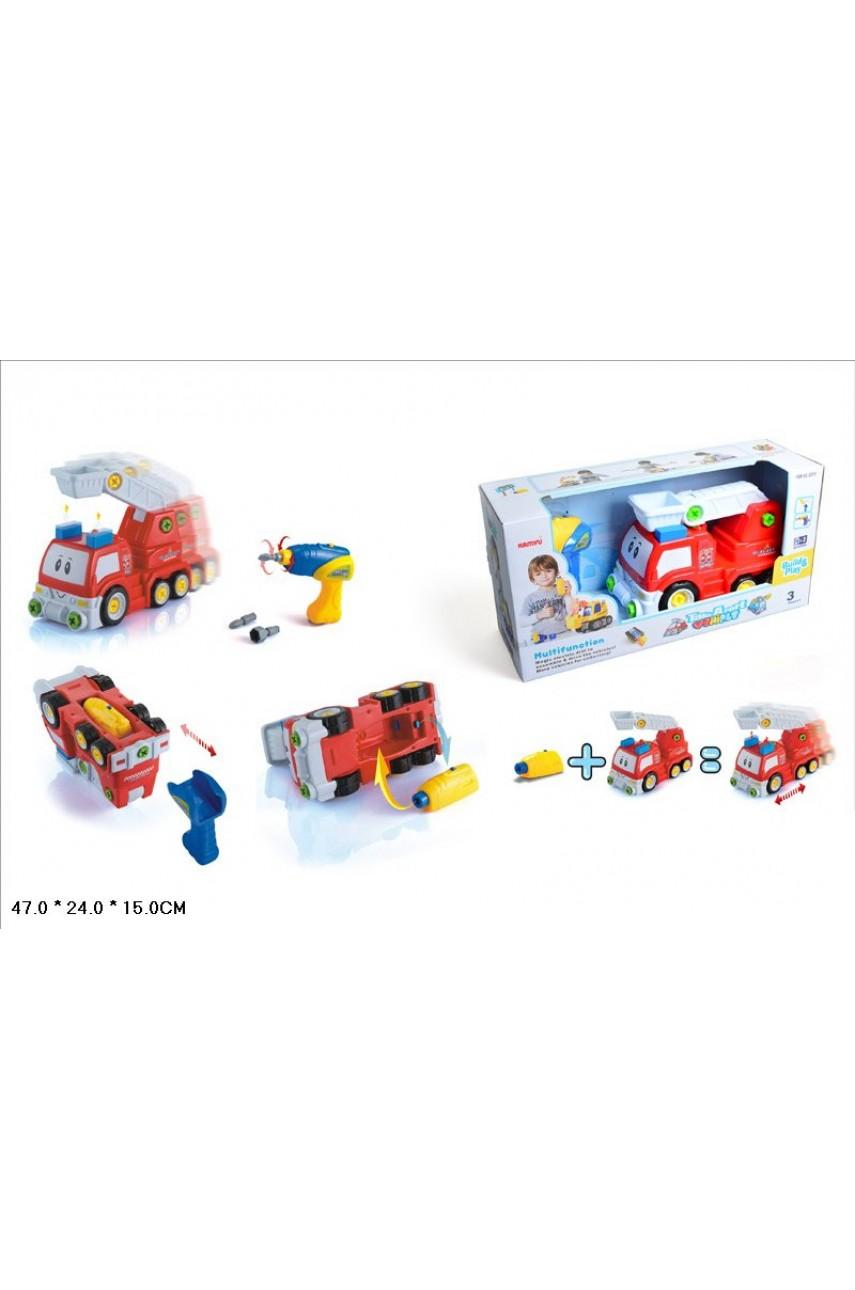 Конструктор Построй и играй Пожарная машина 22914