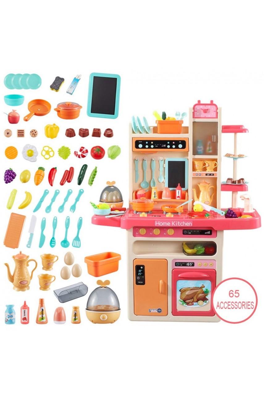 Детская кухня 889-162 / 889-212 с Паром, Водой, свет, звук