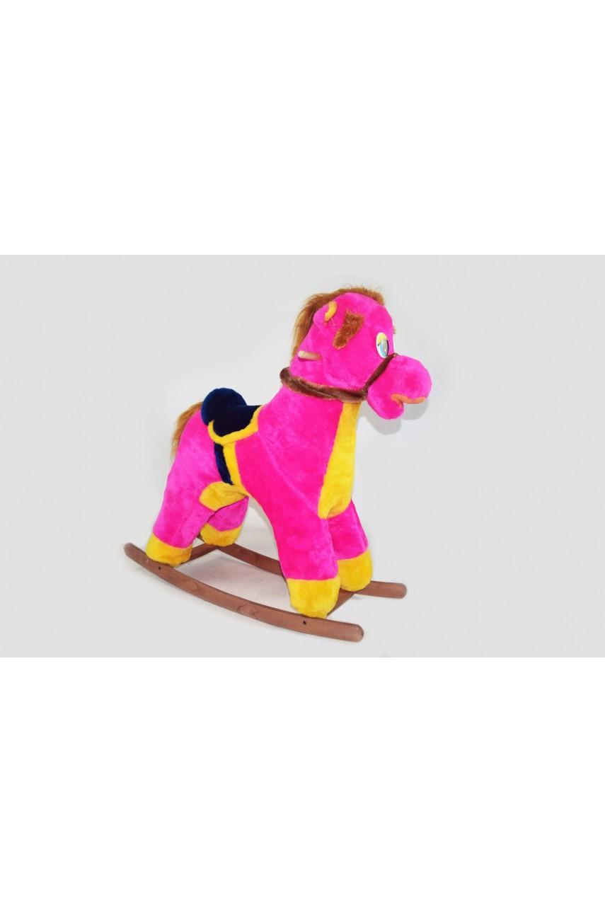 Детская Лошадка-качалка  4 цвета