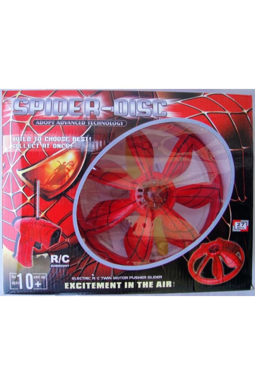 Летающая тарелка на радиоуправлении Spider-disc 3993-5