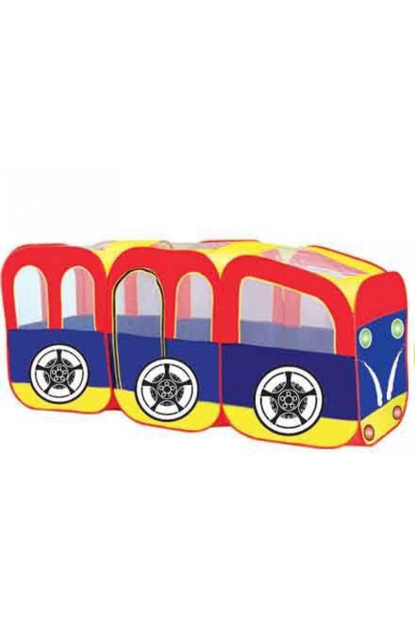 Детская палатка Трамвайчик арт. 889-10B