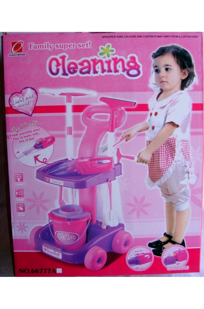 Игровой набор для уборки Family super set
