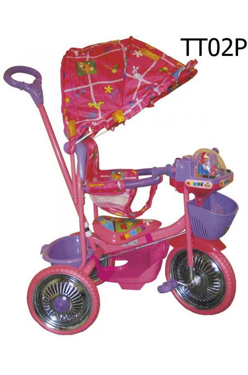 Детский трехколесный велосипед Чижик 02P