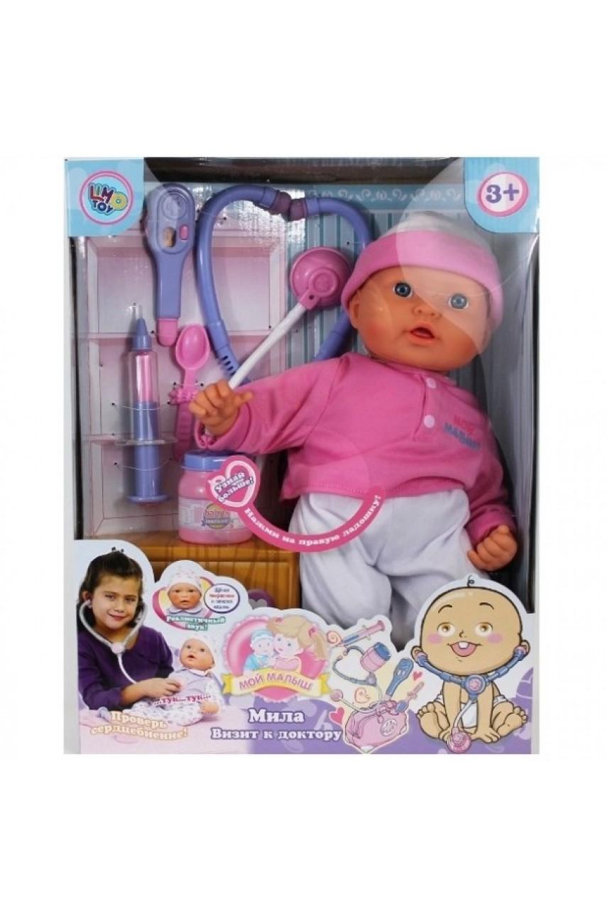 Кукла Мила Визит к доктору 5238