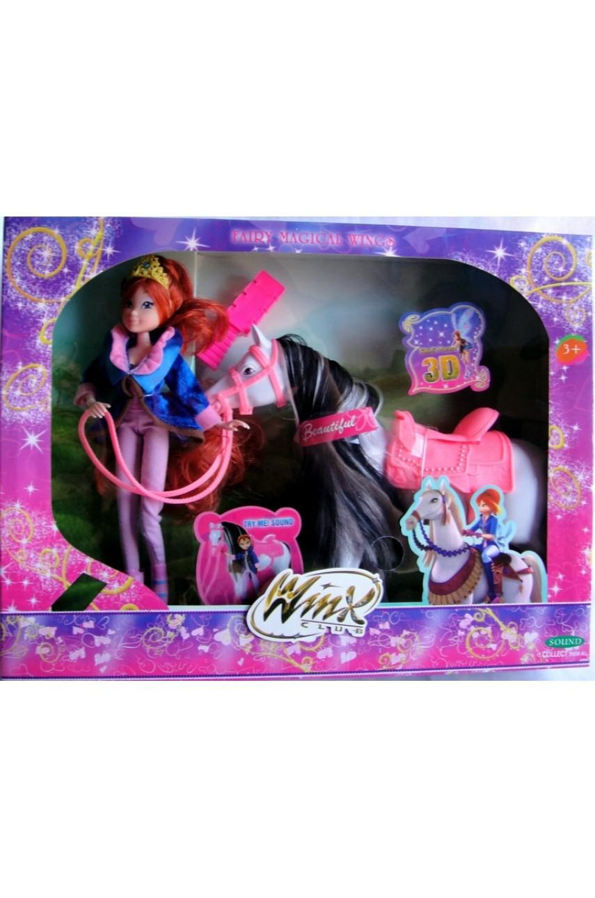 Кукла Winx с лошадью