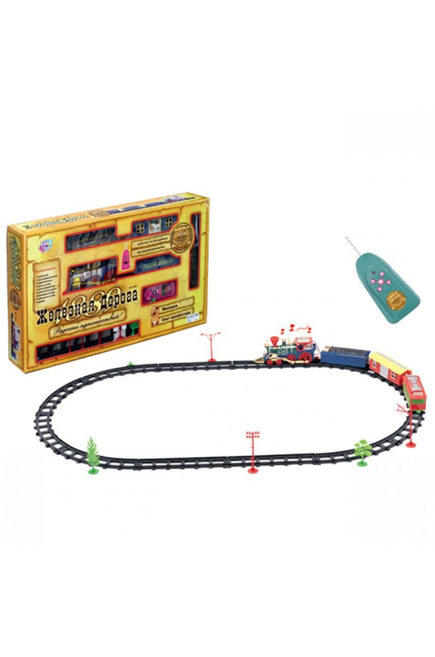 Детская железная дорога на радиоуправлении Радость путешествий Joy Toy 0620
