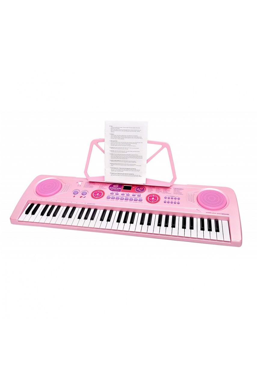 Детский синтезатор BF-7302CL с подсветкой клавиш
