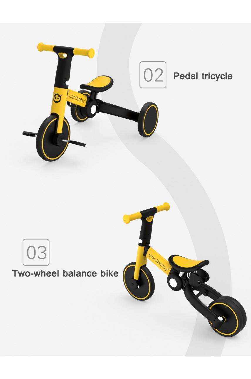 Детский трехколесный велосипед 3в1 Delanit T801