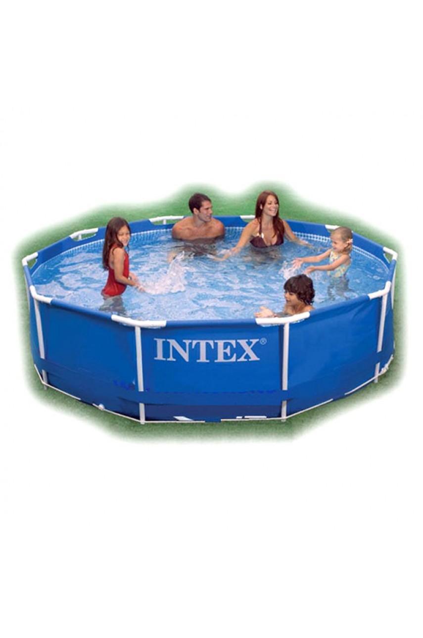 Intex 56997/28200 Бассейн каркасный 305x76 см Metal Frame Pools без фильтр-насоса